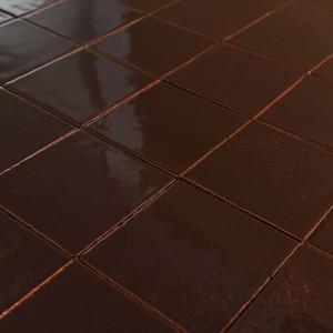 """Glazūruotos sieninės plytelės: """"Šokoladinio rudumo 10×10"""""""
