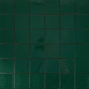 """Glazūruotos sieninės plytelės: """"Turkio žalios 10×10"""""""
